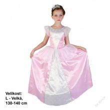 Dětský karnevalový kostým PRINCEZNA LADA 130 - 140 cm (9 - 12 let)